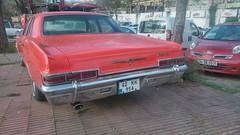 1966 Chevrolet mpala (Zagorcan) Tags: turkey vintagecar trkiye istanbul oldcar impala streetcar uskudar americancar chevroletimpala klasik acibadem amlca retrocar hurda 1966impala eskiaraba klasikaraba