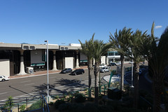 Airport Terminal, San Diego (Blinking Charlie (tanned, rested, and ready)) Tags: california usa palms terminal palmtrees lindberghfield 2015 sandiegointernationalairport airportdrive blinkingcharlie sonydscrx100m3