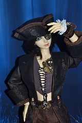 017 (SWEETFANTASYDOLL) Tags: doll sd pirate bjd commission vtement souldoll steampunck outfitbjd parissouldoll piratesteampunck
