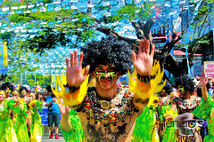 IMG_0093 (iamdencio) Tags: street costume culture tradition iloilo dinagyang streetdancing iloilocity atitribe exploreiloilo filipinoculture dinagyangfestival indencioseyes itsmorefuninthephilippines vivasenorstonino tribupanayanon atiatitribe iamiloilo iloilocitynationalhighschool atitribecompetition dinagyangfestival2016 dinagyang2016