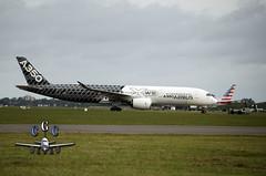 F-WWCF (claudiog.carbone) Tags: airbus eze ezeiza avgeek a350 fwwcf