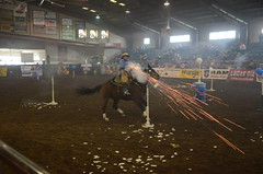 Cowboy Mounted Shooting (Adventurer Dustin Holmes) Tags: horses sports sport events event missouri equestrian 2016 mountedshooting cowboymountedshooting ozarkempirefairgrounds ozarkspringroundup