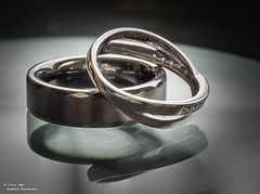 Rings of Love (trevager) Tags: groom bride ceremony bands rings newforest weddingrings brightpixphotography copyrighttrevorager