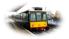 Shirley The Bubblecar (R~P~M) Tags: uk greatbritain england train diesel unitedkingdom buckinghamshire railway 121 bucks princesrisborough dmu chilternrailways multipleunit dbarriva