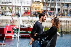 Amor de primavera (emosqueira) Tags: espaa corua barco pareja amor galicia es transporte lacorua embarcaciones emociones lamarina