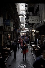 Rush Hour (TonalLuminosity) Tags: city melbourne laneway cafes bluestone centreplace