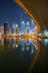 (*Niceshoot*) Tags: bridge urban reflection water skyline architecture skyscraper canon wasser downtown dubai cityscape desert sony uae khalifa architektur alpha brcke spiegelung wste burj vae hochhuser a7ii vereinigtearabischeemirate ef1740mmf4lusm businessbay burjkhalifa a7m2 a7mii sonyilce7m2