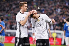 Germany vs Italy (Kwmrm93) Tags: sports sport canon germany munich football fussball soccer celebration friendly munchen futbol celebrate futebol fotball celebrating voetbal fodbold calcio allianzarena deportivo fotboll  deportiva esport fusball  fotbal jalkapallo  nogomet fudbal  votebol marcoreus fodbal mesutozil