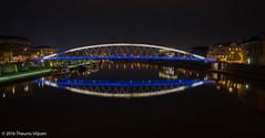 Krakow Eye (Theunis Viljoen LRPS) Tags: reflection eye vistulariver loversbridge podgorze kladkaojkabernatkabridge