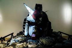 the art of gundam, roppongi (clairobskur) Tags: japan tokyo roppongi gr gundam ricoh ricohgr