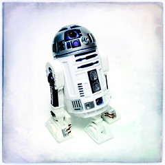 Artoo Detoo (Evan MacPhail Photography) Tags: evan square toy photography star photo r2d2 stormtrooper boba wars ralph fett mcquarrie macphail hipstamatic