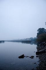Morning cruces (Take your camera and make some magic.-) Tags: chile morning water fog nikon amanecer nublado niebla valdivia d7000