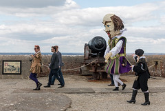 Celebrating Shakespeare (CdL Creative) Tags: england canon geotagged eos unitedkingdom shakespeare hampshire isleofwight gb needles nationaltrust oldbattery 70d cdlcreative po39 geo:lat=506627 geo:lon=15834