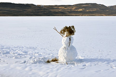 Fremont Lake (TMLizzy Irwin) Tags: lake snowman wyoming frozenlake pinedale fremontlake pinedalewy march2016