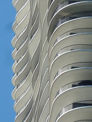 Chicago, Aqua Tower, Balcony Abstract (Architect: Jeanne Gang) (Mary Warren (8.4+ Million Views)) Tags: chicago abstract building lines architecture skyscraper curves wbez chicagoist condotower explorechicago aquatower jeannegang timeoutchicagophotogroup gapersblockchicago outofchicago