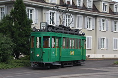 181 (KennyKanal) Tags: tram basel oldtimer grn bvb basler verkehrsbetriebe schienenfahrzeug drmmli
