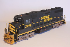 GWWR 2044 FL (Set and Centered) Tags: railroad chicago scale train model paint power super motive ho custom corp 187 services detailed detailing railroading