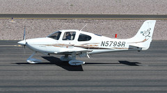 Cirrus SR22 N579SR (ChrisK48) Tags: airplane aircraft 2007 dvt phoenixaz cirrussr22 kdvt phoenixdeervalleyairport n579sr