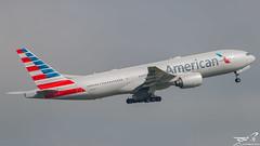 Boeing 777-223ER American Airlines N760AN (rouerjb) Tags: america airplane airport nikon boeing americanairlines spotting cdg boeing777 dcollage americain lfpg