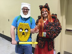 Fin, Jake & Flame Princess (Adventure Time)