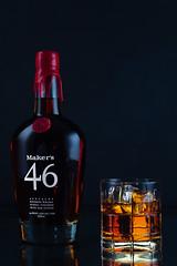 Test-studio-1-234-web (Tom DiMatteo) Tags: reflections mark whisky bourbon 46 makers