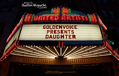 Daughter 03/25/2016 #1 (jus10h) Tags: show music photography hotel la losangeles concert theater downtown tour theatre live sony ace gig daughter performance band panasonic event venue downstairs acehotel unitedartists 2016 elenatonra dmcfz100 ohdaughter dscrx100 justinhiguchi