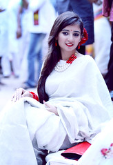 Boishak 1423 (mohammad jobaed) Tags: girls newyear saree bengali 1423 bengalinewyear boishak femalportrait bangladeshphotographer jobaedkhanphotography jobaedkhan jobaedkhanflickr