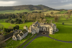 Wiston House (Sam_C_Moore) Tags: downs sussex aerialphotography wistonhouse