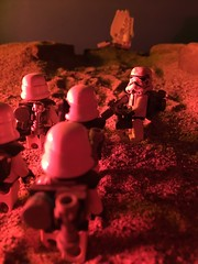 """First round is on me guys."" (kevinmboots77) Tags: starwars lego stormtroopers sandbox sandtroopers legography kevinmboots77"