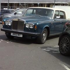 ~ (uk_senator) Tags: blue silver rolls 1979 wrath royce
