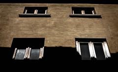 one two three four (Travt) Tags: windows light shadow italy window set dark four italia dream volterra