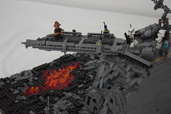 LEGO Star Wars Mustafar gate (BrickProductionStudios99) Tags: lego star wars sw battle mustafar 2016 moc 2017 lava schlacht clones vs clone episode 3