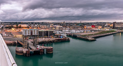 Plymouth (bertrandlamy) Tags: ocean longexposure sea sun mer seascape france clouds canon landscape soleil brittany bretagne exposition paysage bord couch longue 40d