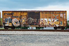 (o texano) Tags: bench graffiti texas houston trains yme ich ichabod freights spek circlet benching