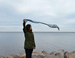 by the sea (maria.maleta) Tags: winter sea girl nikon wind kyiv d3100