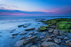 What The Tide Reveals (Travis Rhoads) Tags: longexposure sunrise sony northcarolina coastal fortfisher kurebeach 2016 landscapephotography canonef1740f4l coquinarocks leefoundationkit lee3stopnd travisrhoadsphotography copyright2016 sonya7r2ilce7rm2 metabonesivt