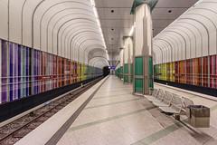 Sample Board (Timeless Seeker) Tags: station underground munich ubahn dlferstrase