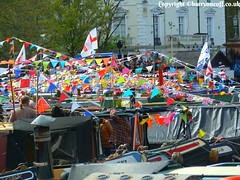 Canal Cavalcade 2016 (Barryoneoff) Tags: venice canal little paddington houseboats littlevenice bunting barges cavalcade narrowboats paddleboards