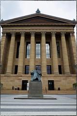 West Entrance, Philadelphia Museum of Art, April, 30, 2016 (Maggie Osterberg) Tags: philadelphia pennsylvania staircase gr ricoh philadelphiamuseumofart maggieo colorefexpro4 183mmf28