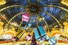 Merry Christmas! (Loïc Lagarde) Tags: city paris france europe fr iledefrance ville 1022 2010 cuidad grandmagasin canonefs1022mmf3545usm cityoflight galerielafayette efs1022mmf3545usm cityoflove villelumière illuminationdenoel canoneos7d lpi0112