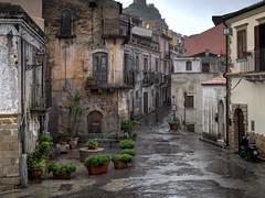 Sicily - Rain In Forza D'Agro (JimP (in Sarnia)) Tags: italy forza sicily dagro godfather