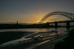 Runcorn Bridge (juliereynoldsphotography) Tags: sunset liverpool landscape fiddlersferry rivermersey juliereynolds juliereynoldsphotographycouk