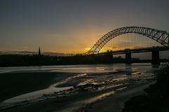 Runcorn Bridge (juliereynoldsphotography) Tags: sunset liverpool landscape fiddlersferry rivermersey juliereynolds juliereynoldsphotographycouk