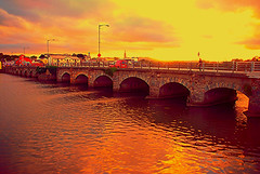 Sunset at The Nineteen Arches Bridge, Arklow, Co. Wicklow (murtphillips) Tags: arklow nineteenarches