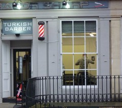 Razor sharp Turkish barber (GusRoman) Tags: buzz barbershop crop barber shave hnt buzzcut crewcut burr turkish hottowel