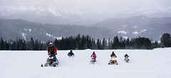 Snowmobiling in Wyoming (SnoCountry.com) Tags: wyoming snowmobiling