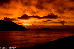 It really was jaw dropping. (Donna Hampshire (catching up)) Tags: sunset red sky orange seascape clouds landscape scotland isleofmull loch lochnakeal seasunset scotlandlandscapes donnarobinson canon7dii