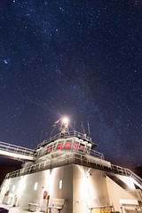 Starship 'Island Sky' (Jason Pineau) Tags: ferry night dark coast boat skies ship bc britishcolumbia inlet sunshinecoast bcferries jervis mv milkyway islandsky