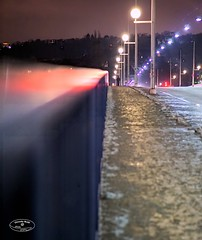 * over the bridge and away (@ ChineduBlue61photography) Tags: travel bridge lights nightshot over