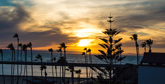 Sunset From Corona Del Mar #sunset #coronadelmar (FilmAndPixels) Tags: newportbeach coronadelmar uploaded:by=instagram